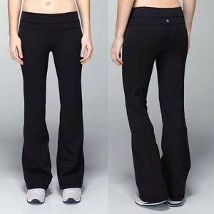 Lululemon Black Flare Pants